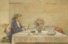 Portrait De Sarah Bernhardt 1921 - Louise Abeema