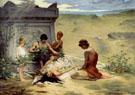 Death of Polyxena 1882 - Paul Francis Quinsac