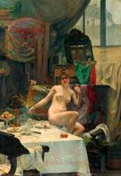 In The Studio - Paul Francis Quinsac