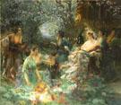 Scene Japonisante 1895 - Paul Francis Quinsac