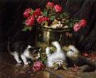 Playful Kittens A - Leon Charles Huber