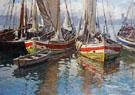 Harbour Scene - Gaetano Esposito