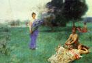 Fleur De Luce - Henry Siddons Mowbray