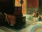 Harem Scene 1884 - Henry Siddons Mowbray