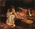 Repose A Game of Chess - Henry Siddons Mowbray