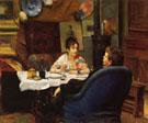Studio Lunch c1880 - Henry Siddons Mowbray