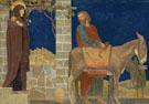 The Flight Into Egypt c1915 - Henry Siddons Mowbray