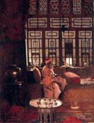 An Arab Interior 1881 - Arthur Melville