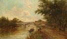 Staines Bridge Surrey - Arthur Melville