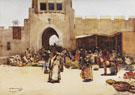 The North Gate Baghdad 1882 - Arthur Melville
