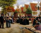 The Fish Market Sun - Henri Houben