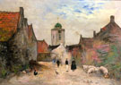 A View In Katwijk 1903 - Siebe Johannes Ten Cate