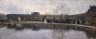 Tuileries After The Firing Seen From Carrousel Garden c1880 - Siebe Johannes Ten Cate