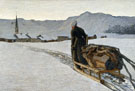 Return From The Woods 1890 - Giovanni Segantini