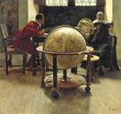 Galileo And Viviani 1892 - Tito Lessi