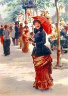 On The Boulevard Paris - Tito Lessi