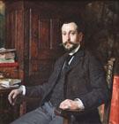 Portrait Dhomme A Sa Table De Travail - Tito Lessi
