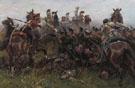 Batallon Royal Netherland en Quatre Bras en 1815 - Jan Hoynck van Papendrecht