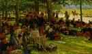 Picnic After The Parade 1906 - Jan Hoynck van Papendrecht