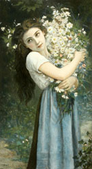 The Flower Girl - Jules Cyrille Cave