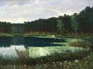 Au Bord du Lac - Konstantin Yakovlevich Kryzhitsky
