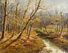 Autumm Landscape - Konstantin Yakovlevich Kryzhitsky