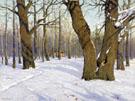 Autumn Landscape 1910 - Konstantin Yakovlevich Kryzhitsky