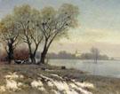Early Spring - Konstantin Yakovlevich Kryzhitsky