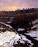 Early Spring 1905 - Konstantin Yakovlevich Kryzhitsky