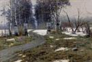 The Landscape 1895 - Konstantin Yakovlevich Kryzhitsky