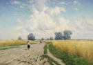 The Road 1899 - Konstantin Yakovlevich Kryzhitsky