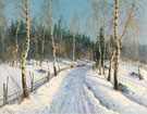 The Way Through The Forest - Konstantin Yakovlevich Kryzhitsky