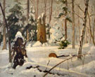 Winter Forest in 1899 - Konstantin Yakovlevich Kryzhitsky