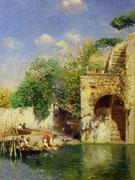 Lavandaie A Venezia - Rubens Santoro