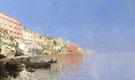 On The Mediterranean Coast - Rubens Santoro