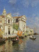 S Maria Della Visitazione And S Maria Del Rosario Venice - Rubens Santoro