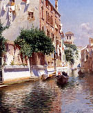 St Apostoli Canal Venice - Rubens Santoro