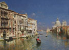 The Grand Canal Venice B - Rubens Santoro