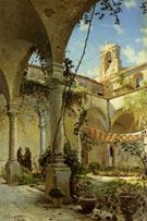 The Cloister Taormina 1885 - Peder Mork Monstead