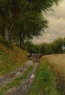 The Way Home 1904 - Peder Mork Monstead