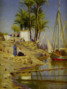 View of Cairo 1894 - Peder Mork Monstead