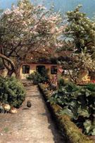 Watering The Garden 1920 - Peder Mork Monstead