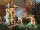 A Water Idyll - Hans Zatka