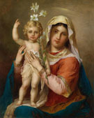 Madonna with Child - Hans Zatka