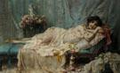 Reclining Beauty - Hans Zatka
