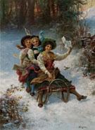 Sledding - Hans Zatka