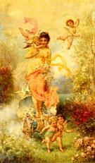 The Goddess of Spring - Hans Zatka