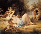 Venus and Her Attendants - Hans Zatka
