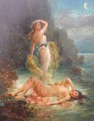 Water Nymphs c1890 - Hans Zatka