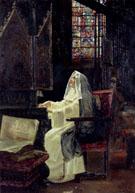 At Prayer 1894 - Jose Gallego Y Arnosa